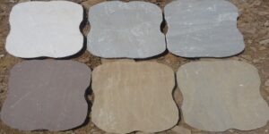 All Colors Sandstone Stepping Stones