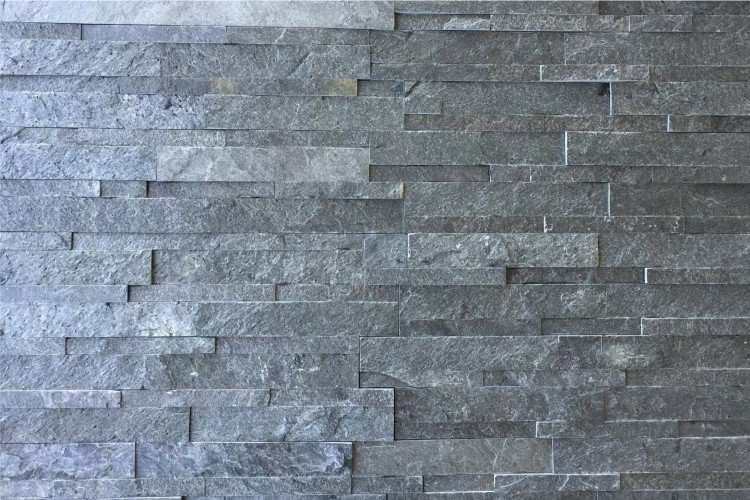 Asian Grey Stacked Stone