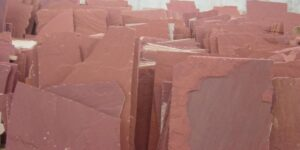 Maple Red Flagstone Pavers
