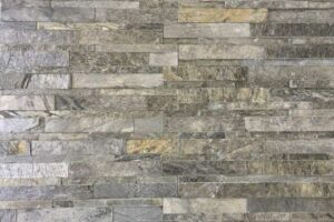Silver Shine Stacked Stone