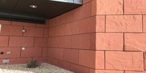 Dry Wall Cladding Maple Red